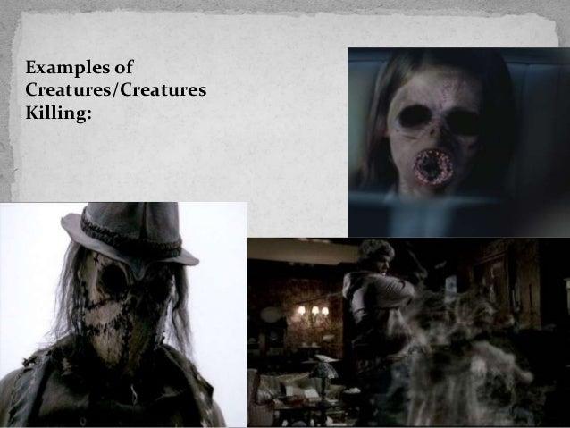 Examples ofCreatures/CreaturesKilling: