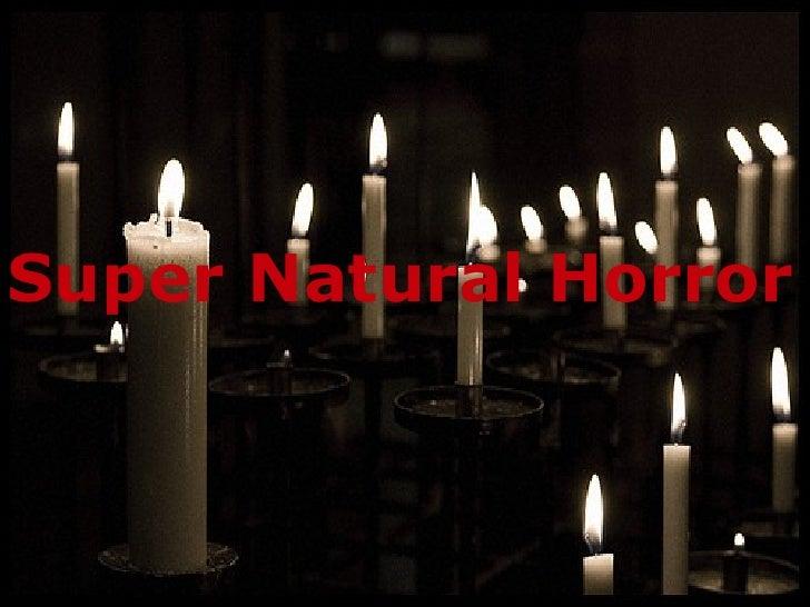 Super Natural Horror