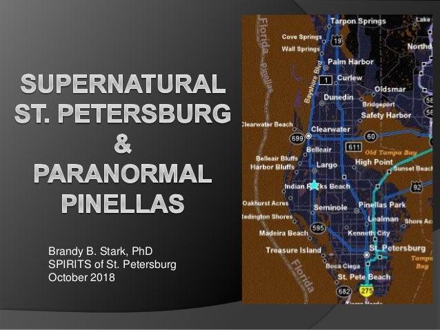 Brandy B. Stark, PhD SPIRITS of St. Petersburg October 2018