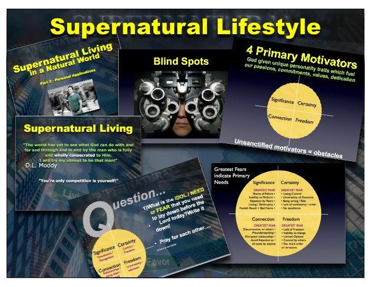 Supernatural Lifestyle