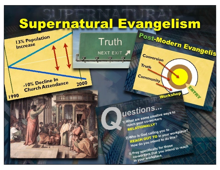 Supernatural Evangelism