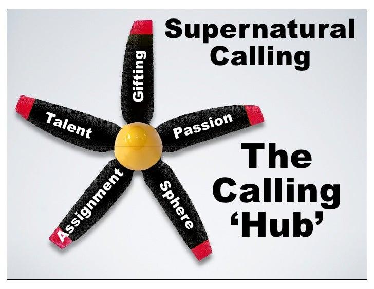 Supernatural                              Calling                   Gifting Tal                                ion    e   ...