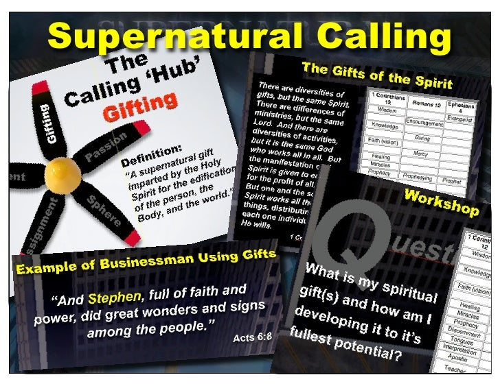 Supernatural Calling