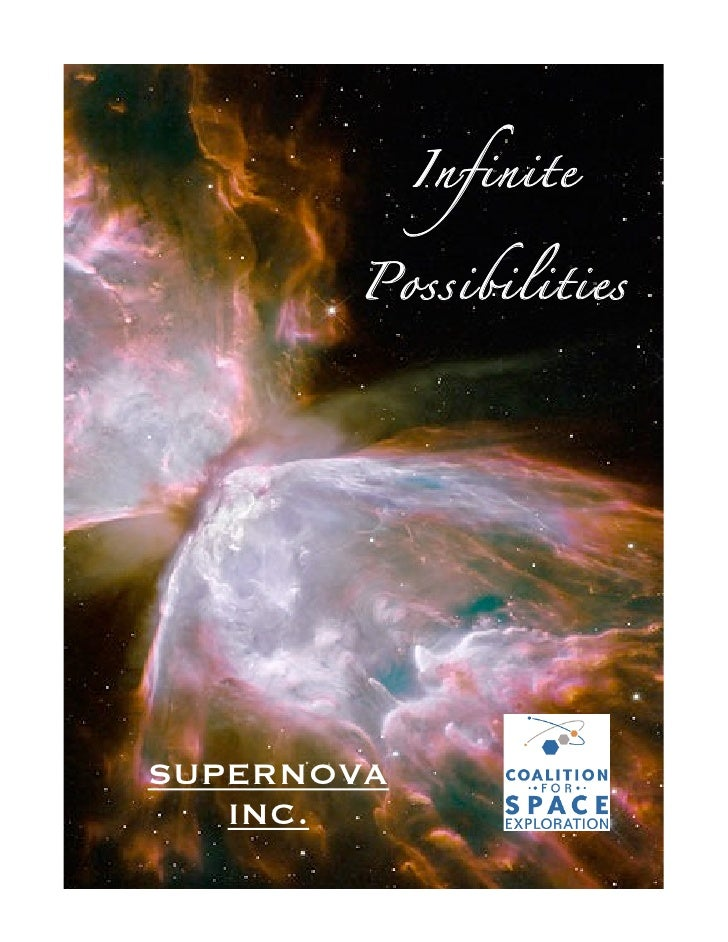 Infinite                 Possibilities            SUPERNOVA           INC.                  1