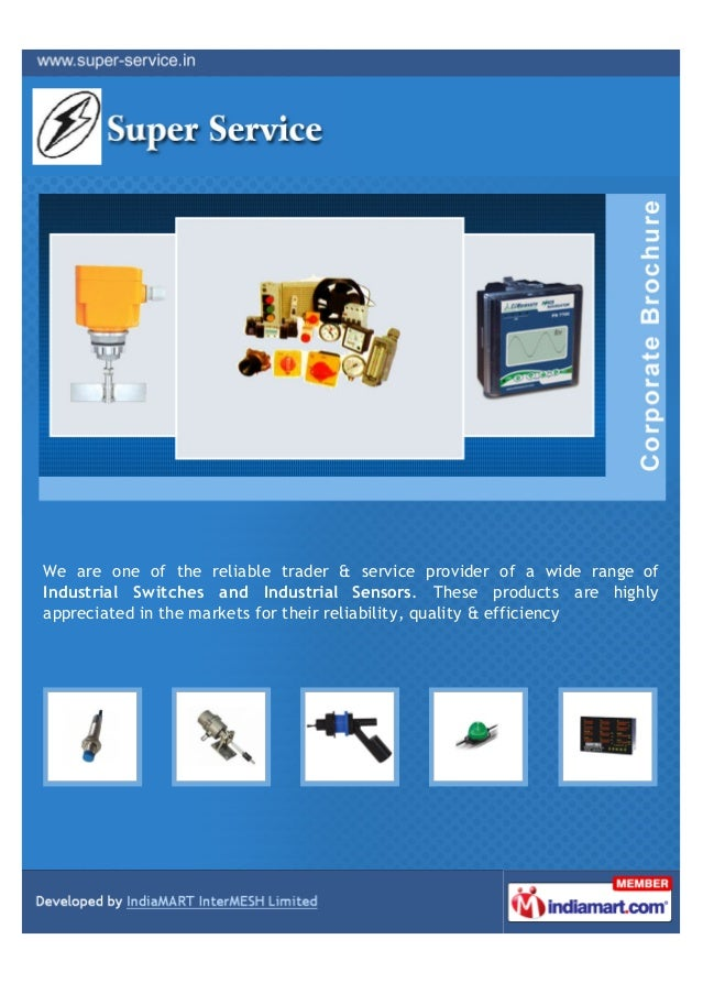 We are one of the reliable trader & service provider of a wide range ofIndustrial Switches and Industrial Sensors. These p...