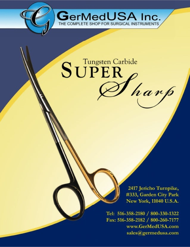 Supersharp Surgical Instruments GerMedUSa.Com