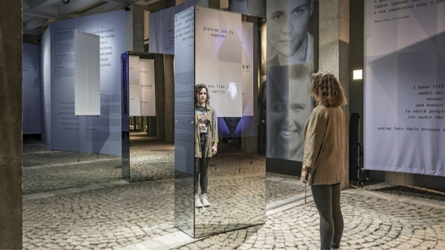 The interface is designed to match the position of the viewer's face in the mirror. The algorithm approximates the height ...
