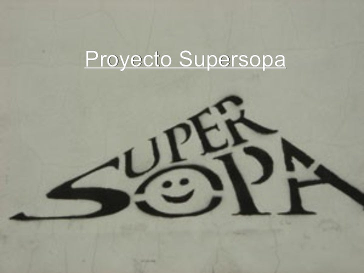 Proyecto Supersopa