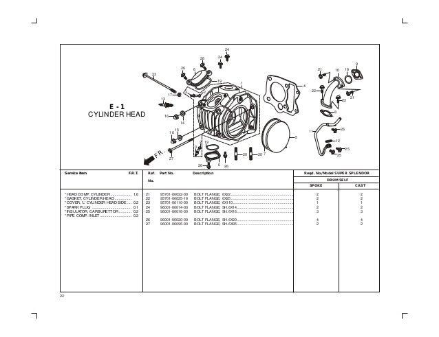 Hero Motorcycle Wiring Diagram : Marvelous hero honda splendor engine diagram wiring photos