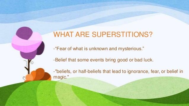 Superstitions around the world  Slide 2