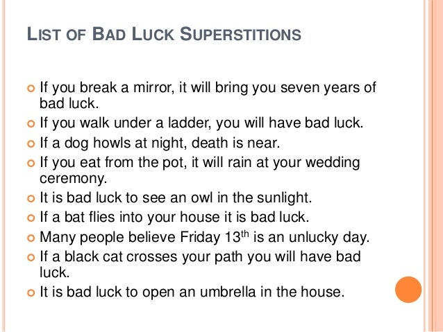 how to put a bad luck spell on someone