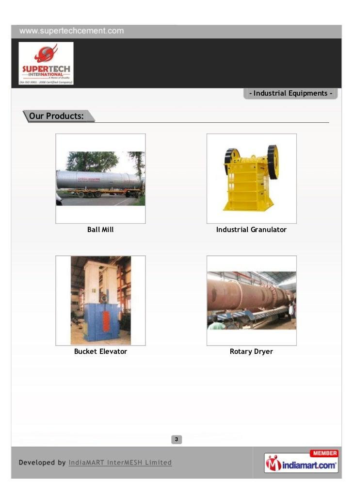 Super Tech International, Meerut, Industrial Equipments Slide 3