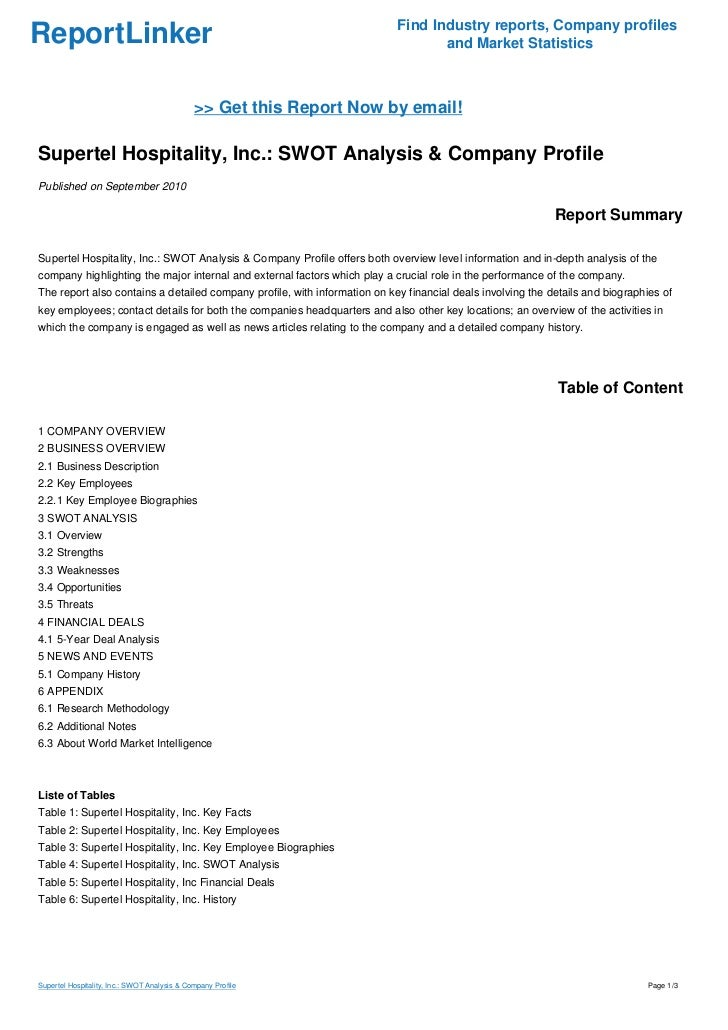 an analysis of pr company inc The leading provider of market research reports and industry analysis on  marketresearchcom offers a variety of  company-wide access to an entire.