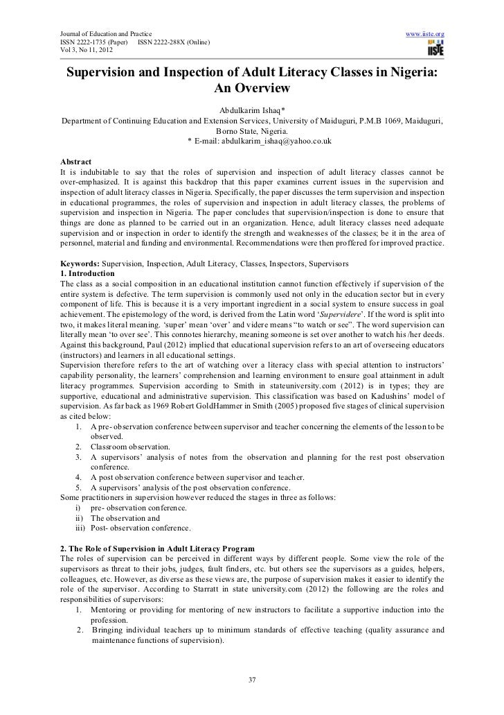 Journal of Education and Practice                                                                         www.iiste.orgISS...