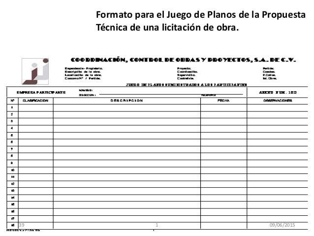 Supervision de obras el ctricas unidad iii for Planos de obra civil