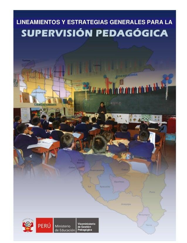 PRESENTACIÓN En el marco del Proyecto Educativo Nacional y las políticas priorizadas del estado, el Ministerio de Educació...