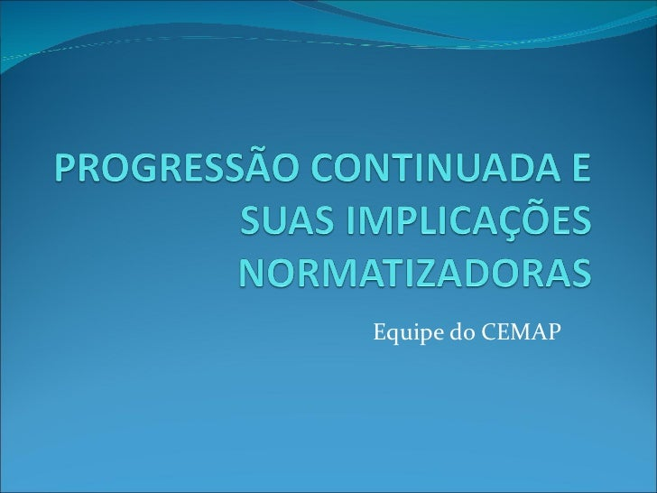 Equipe do CEMAP