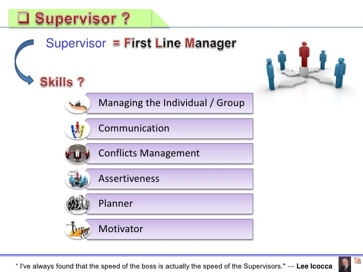 qualities of a good supervisor ppt Advice and tidbits to enhance your personal training techniques and shares the top qualities of a great trainer  these are the top 6 qualities of a good.
