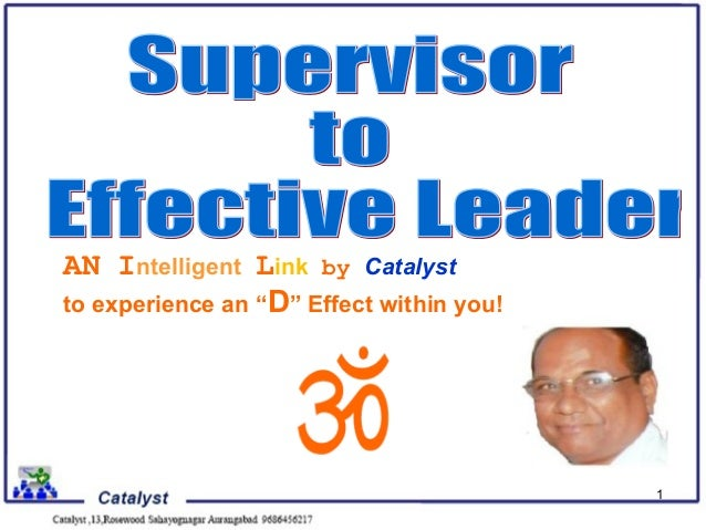 "AN Intelligent Link by Catalystto experience an ""D"" Effect within you!                                          1"
