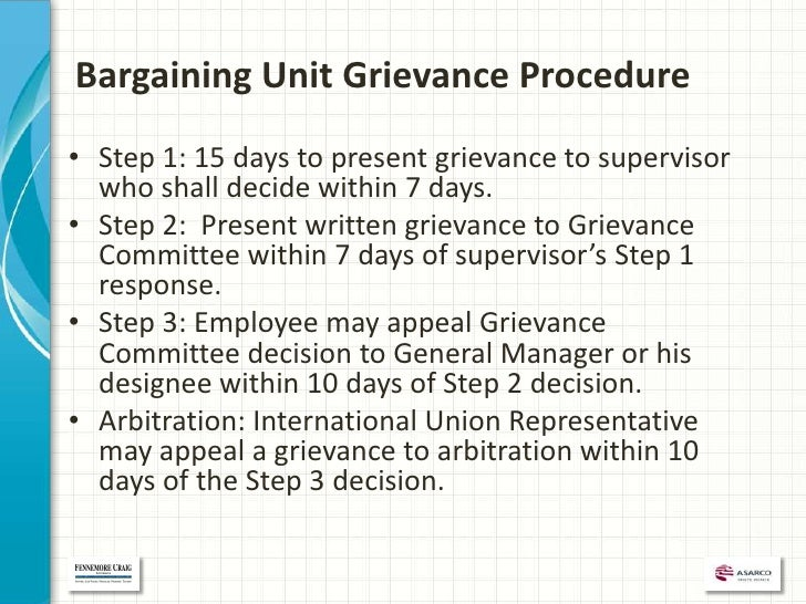 an appeal to justice through a formal grievance procedure There are three steps to the grievance procedure (informal complaint, formal grievance, appeal to the chief inspector) each step has a specific form, which must be used and can be obtained from your case manager or the institutional inspector.