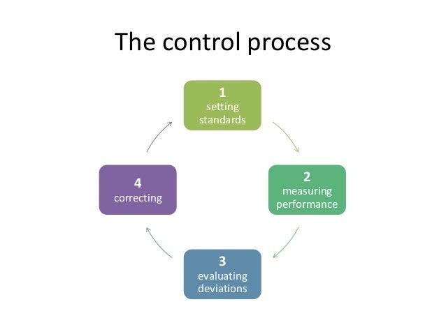 Give Formal Control Process Block Diagram Describe And