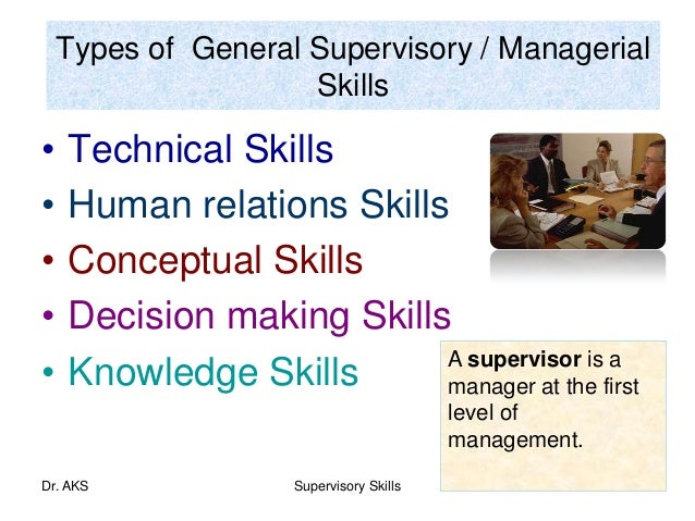 Supervisory and Management Skills Course