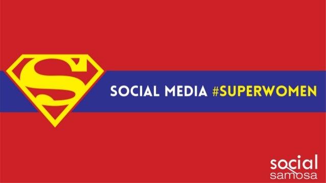 Social Media #Superwomen