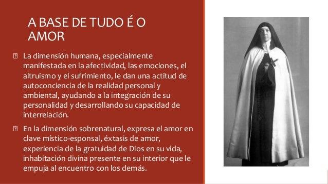 A BASE DE TUDO É O AMOR Ꞝ La dimensión humana, especialmente manifestada en la afectividad, las emociones, el altruismo y ...