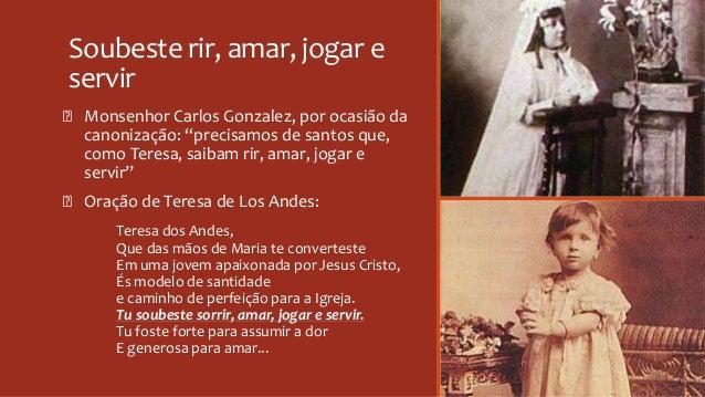 """Soubeste rir, amar, jogar e servir Ꞝ Monsenhor Carlos Gonzalez, por ocasião da canonização: """"precisamos de santos que, com..."""