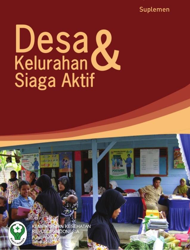 KEMENTERIAN KESEHATANREPUBLIK INDONESIAPusat Promosi KesehatanTahun 2011Suplemen