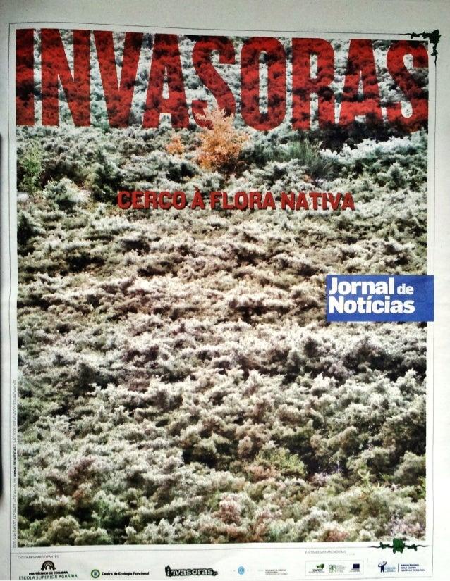 Suplemento Jornal de Notícias: Plantas Invasoras em Portugal