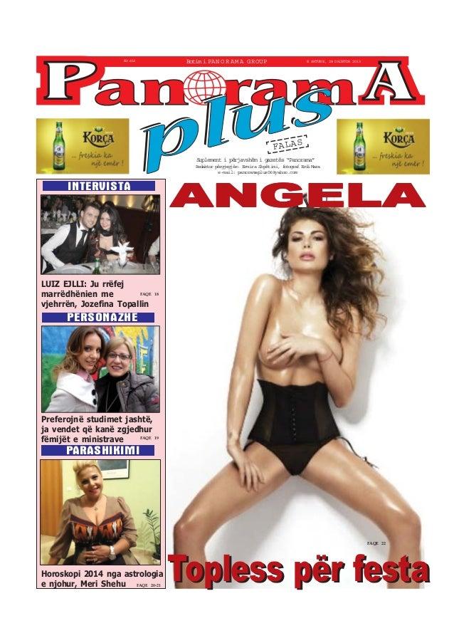"""Botim i PA N O R A M A GROUP  Nr.413  E SHTUNE, 28 DHJETOR 2013  FALAS Suplement i përjavshëm i gazetës """"Panorama"""" Redakto..."""