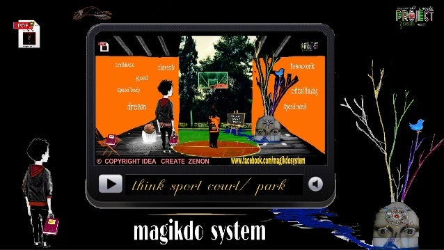 think sport court/ park – a pioneer project by GM/SCOUT basketball – a..court with… 4 level [ Tourist - EDUCATION - anti -...