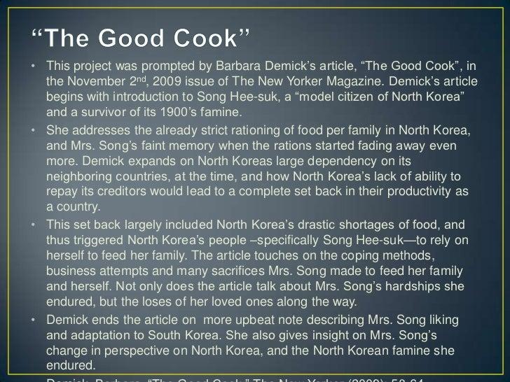 the north korean famine