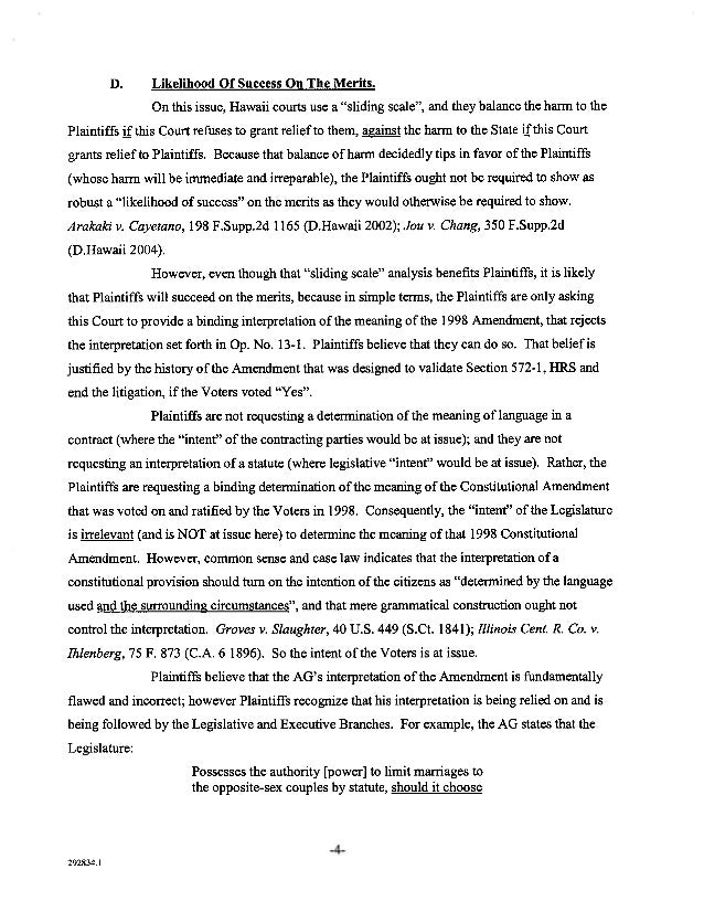 supplemental memorandum in support of mc dermott lawsuit  3292834 1 5