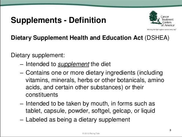 Supplements 101 Wisconsin Leukemia And Lymphoma Society