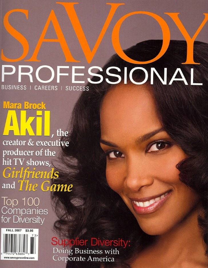 Growing Your Business Through Supplier Diversity - Savoy Professional Magazine Fall 2007