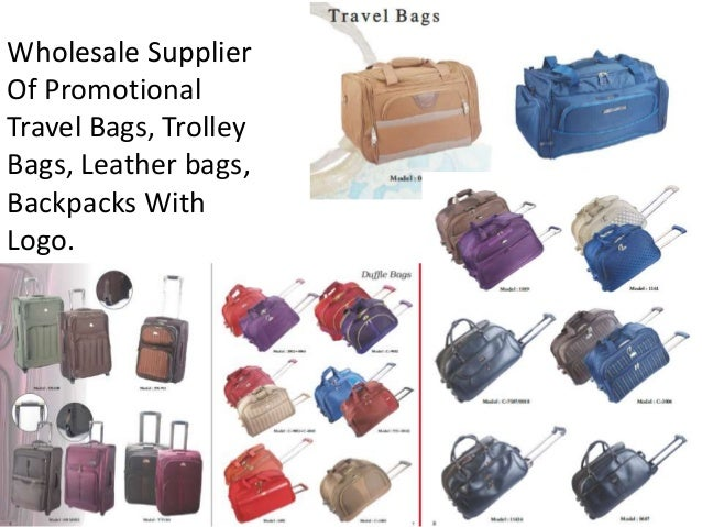 Travel Bags Wholesale In Bangalore