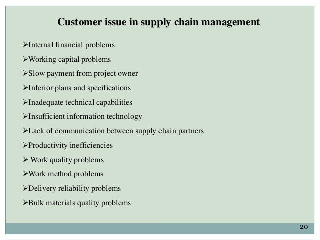 Suppliers selection in construction supply chain management