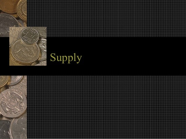 SupplySupply