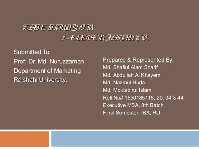 Case Study        i CASE STUDY SEVEN ELEVEN JAPAN CO Established     Seven Eleven Japan Company SCM Inventory Supply Chain ResearchGate Case  Study Bullwhip Effect