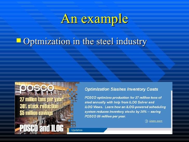 Supply Chain Management - Optimization technology Slide 2