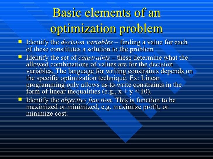 Supply Chain Management - Optimization technology Slide 3