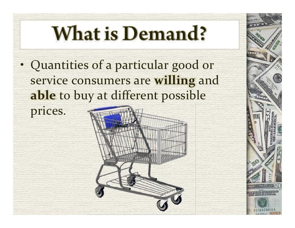 Supply and Demand Slide 2
