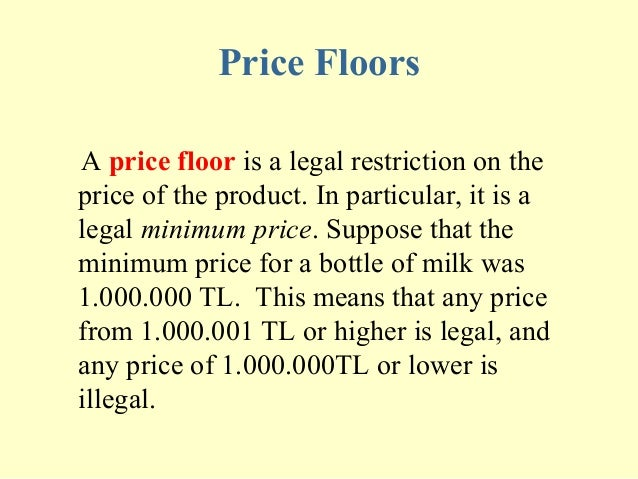 Price Floors A ...
