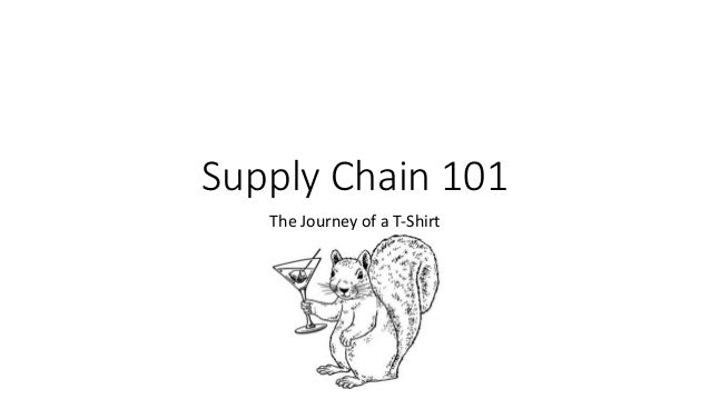 Supply Chain 101 The Journey of a T-Shirt