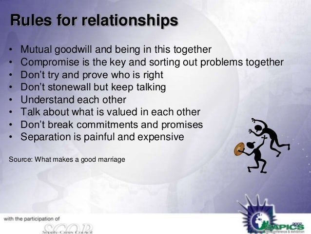 relationships and compromise