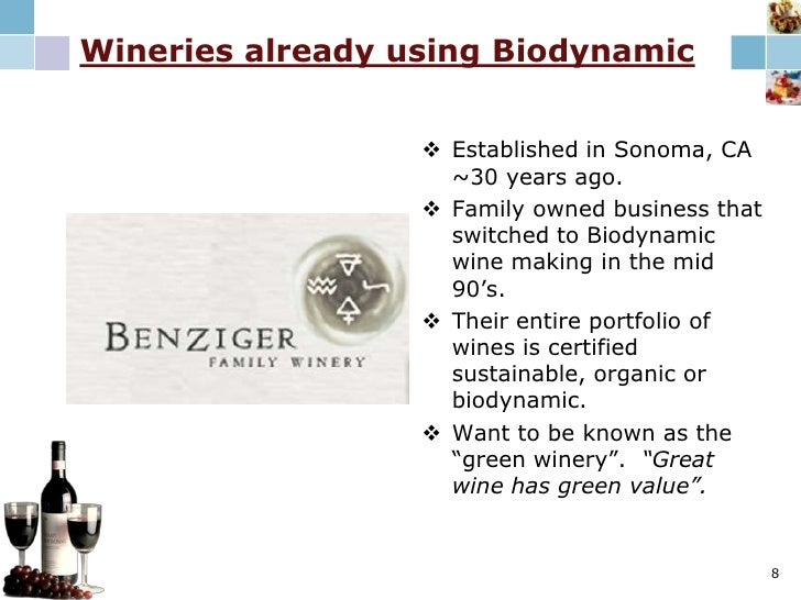 Industry Snapshot<br />Worldwide there are now 360 certified vineyards and/or wineries, with a total 20,000 certified vine...