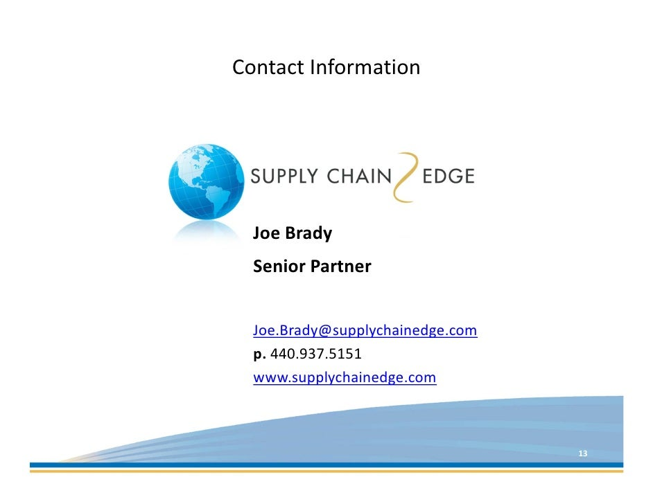 riordan supply chain evaluation essay This paper presents a review in food supply chain management (fscm) from   supply chain efficiency, food waste, food safety, and value chain analysis.