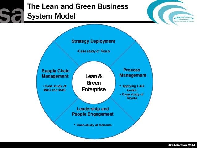 Tesco case study leadership